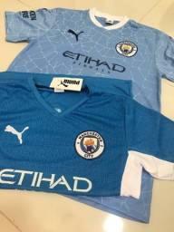 2 camisas City tamanho G