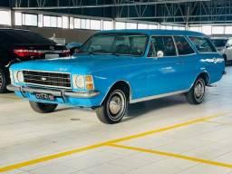GM Chevrolet Caravan 1976 placa preta ! Estado de nova!