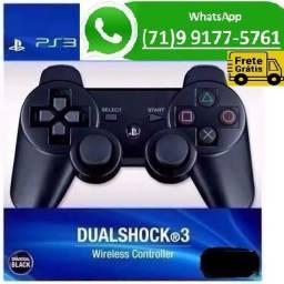 Controle Dualshock Playstation Ps3 Sem Fio 3 Bluetooth (NOVO)