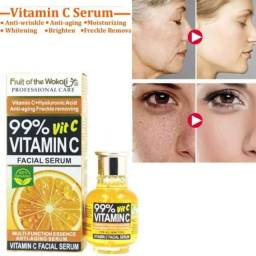 Sérum Clareador e Anti-Idade Vitamina C