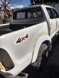Toyota Hilux ano 2013 sucata so peças