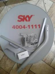 Antena banda KU, Mini parabólica 60mm Sky