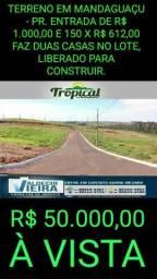Loteamentos Umuarama, Mandaguaçu e Maringá