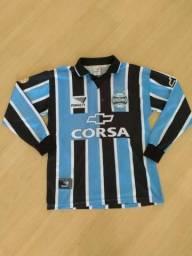 2096b7d132b9b Camisa Grêmio Penalty 1998 Manga Longa - Tam. GG