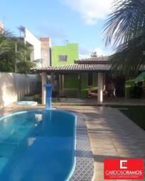 Casa de condomínio à venda com 4 dormitórios em Arembepe, Camaçari cod:CA00629