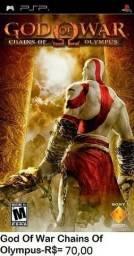 God of war chains of olimpus jogo para psp
