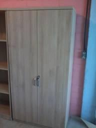 Armário alto 2 portas para escritório (novo)