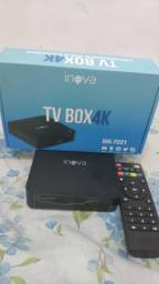 Smart tv box inova sem mensalidade