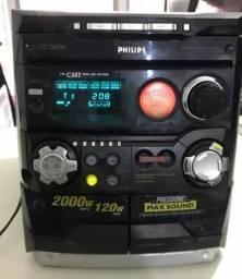 Micro system Philips original r$ 340,00
