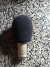 Microfone condensador Behringer B1 semi-novo!