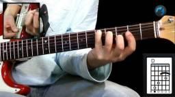 Aprender tocar guitarra na sua casa