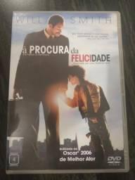 DVD À Procura da Felicidade - R$ 10
