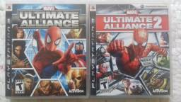 Marvel Ultimate Alliance 1 e 2 (ps3)