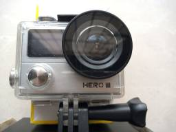 Câmera Goal Pro hero 3 pouco usada em perfeito estado