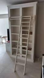Estante de madeira 230cm x 45cm x 115cm