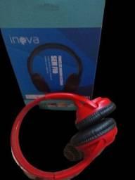 Fones de ouvido bluetooth inova modelo fon 6701
