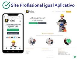 Site para Profissionais e Empresas, Imobiliárias, Prestador de Serviço e Loja Virtual