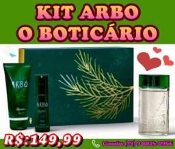 Coleção Exclusivos kits de Natal o Boticário em PRONTA ENTREGA WATZAP (79) 9  *