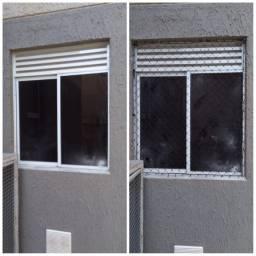 Instalação e manutenção de insulfim e rede de proteção