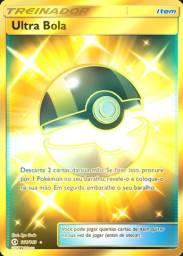 Card Pokemon Ultra Bola Secreta Rara Dourada