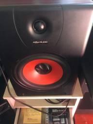 Par de monitor de estúdio