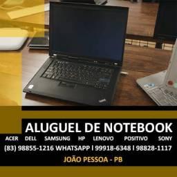 Locação de Notebook em João Pessoa