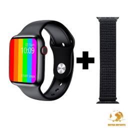 Novo Smartwatch Iwo W26 Tela Infinita 44mm + Brinde