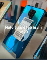note 9 pro 64 gb 6 ram 1620