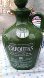 Garrafa whisky chequers