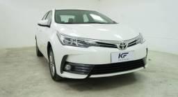 Toyota Corolla 1.8 GLI 2018 Branco Automático Completo