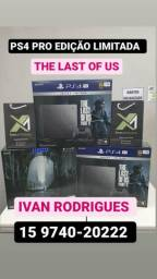 SONY PS4 PRO EDIÇÃO LIMITADA THE LAST OF US