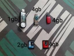 Pen drive / cartão de memória