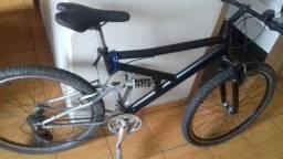 Bicicleta aro 26 18marchas com dupla suspensão