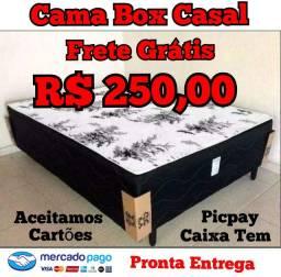 CAMA DE CASAL MODELO BOX