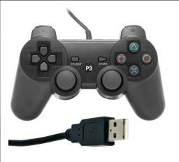 Controle Joystick Playstation 3 Doubleshock 3 Usb Ps3/pc