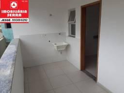 JES 053. Casa com 3 quartos, varanda, área de serviço 76 m²