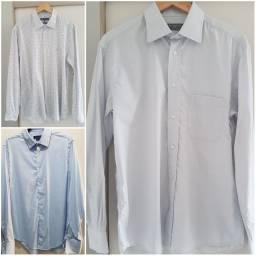 Camisas sociais brooksfield, dudalina e zara