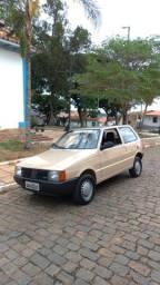 Fiat Uno-S bege 1986 Raridade