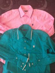 Duas camisas Polo wear por $60