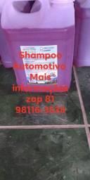 Shampoo e Limpar Pneus