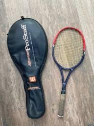 Raquete de tênis puma super - graphite