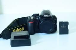 Câmera nikon D3100 + Lente 18 55