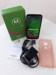Moto g7 play digital 32 gigas aceito cartão