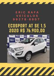 Rafa Veiculos Belém ECOSPORT AT SE 1.5  c/ R$ 1.000,00 de entrada - Erick eek