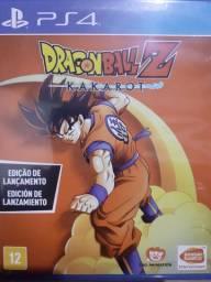 Dragon ball z KAKAROT ps4 em perfeito estado