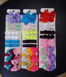 OFERTA!! Hair clip's 3 cartelas por 18.60 R$