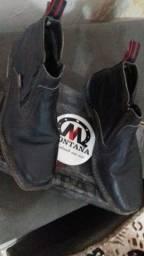 Bota masculina de couro Montana