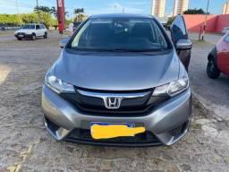 Honda / Fit Lx Aut ano 14/15 cor cinza completo