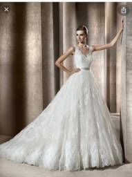 Título do anúncio: Vestido noiva pronovias
