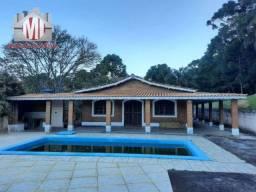 Si0059 - Sítio com escritura, 03 dormitórios, piscina, pomar, à venda em Pinhalzinho/SP
